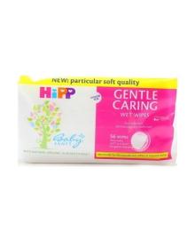 Детские влажные салфетки HIPP BabySanft с экстрактом миндаля 56 шт