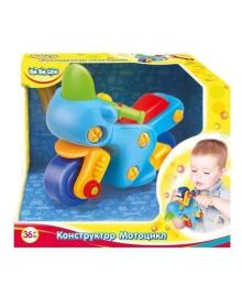 Конструктор ToysLab BeBeLino Мотоцикл 57082, 5060249457176