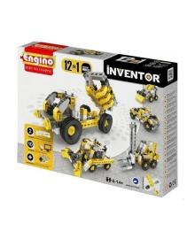 Конструктор Engino Inventor Строительная техника 12 в 1, 125 эл. 1234, 5901435410059