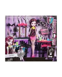 Набор с куклой Mattel Monster High Кафе Пальчики откусишь DPM07