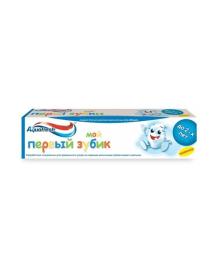 Зубная паста Aquafresh Мой первый зубик, 50 мл NS7075500, 3830029294794