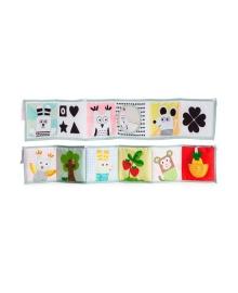 Развивающая книжка-раскладушка 3-в-1 Taf Toys