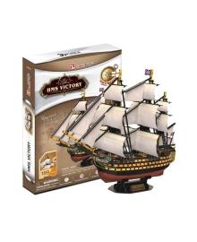 3D пазл CubicFun HMS Victory