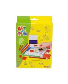 Большой набор штампов Art&Fun с фломастерами 6311029, 4006592610296