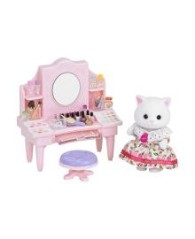 Набор Sylvanian Families Туалетный столик с косметикой Персидской кошечки 5235, 5054131052358