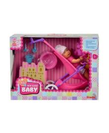 Кукольный набор Simba Пупс New Born Baby mini, 12 см