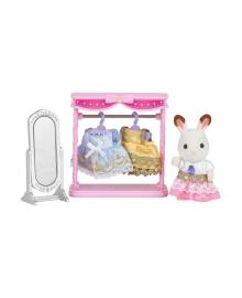 Набор Sylvanian Families Гардеробная кролика Марии 5236, 5054131052365
