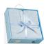 Одеяло Interbaby Blanket printed 110x80 cм голубое 00890-01, 8435440302070
