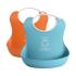 Набор нагрудников Baby Bjorn, оранжевый+бирюзовый 46207