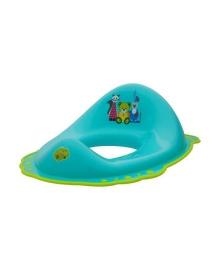Сиденье на унитаз Maltex Baby Мишка и друзья с нескользящими резинками Серое