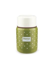Термос для пищевых продуктов Fissman оливковый, 350 мл