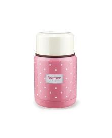 Термос для пищевых продуктов Fissman розовый, 350 мл