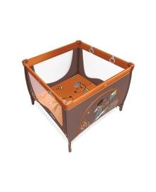 Манеж Baby Design Play UP оранжевый 1