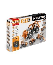 Конструктор Engino Inventor Motorized 50 в 1 с электродвигателем, 605 деталей 5030