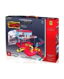 Игровой набор Bburago Гараж Ferrari 18-31231, 4893993312313
