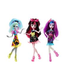 Кукла Monster High Душераздирающие Гхолы Mattel (в ассорт.) DVH65