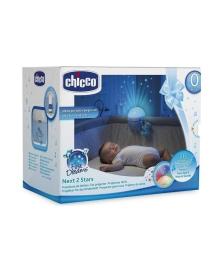 Проектор Chicco Next2 Stars, голубой