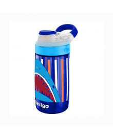 Бутылка Contigo синяя с акулой, 420 мл. 6800079