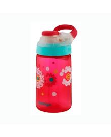 Бутылка Contigo красная с одуванчиками, 420 мл. 6800077