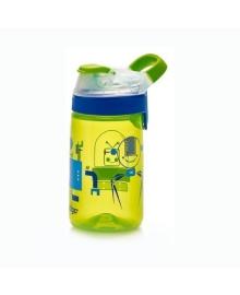Бутылка Contigo зеленая с роботами, 420 мл. 6800078