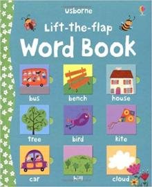 Детская книга с окошками  Lift-the-Flap: Word Book (9780746099155)