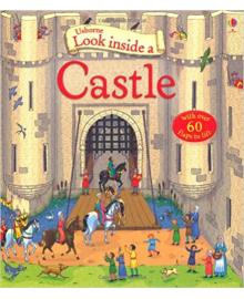 Детская книга с окошками  Look Inside a Castle (9781409566175)