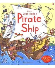 Детская книга с окошками  Look Inside a Pirate Ship (9781409531715)