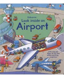 Детская книга с окошками  Look Inside an Airport (9781409551768)