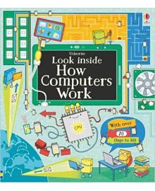 Детская книга с окошками  Look Inside How Computers Work (9781409599043)