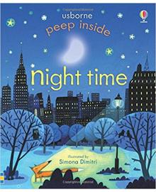 Детская книга с окошками  Peep Inside Night Time (9781409564010)