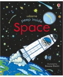 Детская книга с окошками  Peep Inside Space (9781409599142)