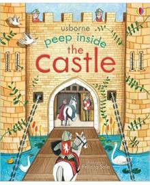 Детская книга с окошками  Peep Inside the Castle (9781409582052)