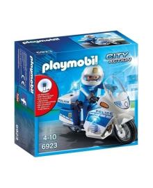Игровой набор Playmobil Полицейский мотоцикл