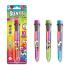 Многоцветная ароматная шариковая ручка - ВОЛШЕБНОЕ НАСТРОЕНИЕ (10 цветов)