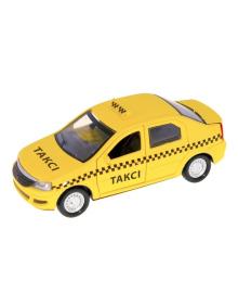 Машинка Технопарк Renault Logan Taxi 1:32