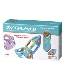 Конструктор магнитный Magplayer 14 эл