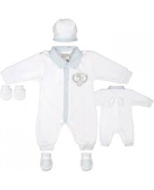 Комплект Крестильный Garden baby для мальчика Модный карапуз 03-01087-01
