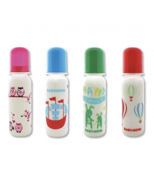 Бутылочка Baby-Nova Декор New 250 мл (в ассорт) 47006, 4001076470069