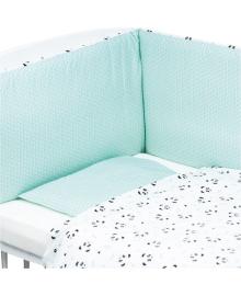 Комплект постельного белья Bubaba Панды 3 эл