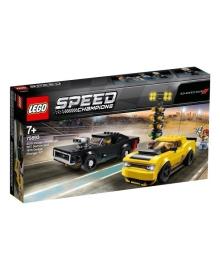 LEGO® Speed Champions Автомобили 2018 Dodge Challenger SRT Demon и 1970 Dodge Charger R/T 75893, 5702016370973