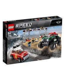 LEGO® Speed Champions 1967 Мини Купер S Rally и 2018 Мини Джон Купер Багги 75894, 5702016370980