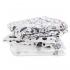 Полотенце Aden + Anais Musy 101 Dalmatians, муслин, 70х70 см, белый с черным, 3 шт. (AA-DISN203G)