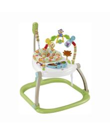 Портативное кресло-прыгунки Fisher Price Mattel Джунгли