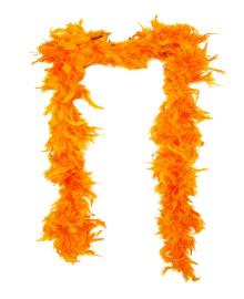 Боа перьевое оранжевое 270216-142