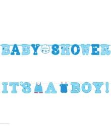 Гирлянда-буквы baby-boy 1501-4313