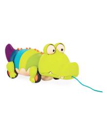 Игрушка-каталка Battat Крокодил Клац-Клаус