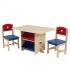 Детский стол с ящиками и двумя стульями KidKraft Star Table & Chair Set (26912)