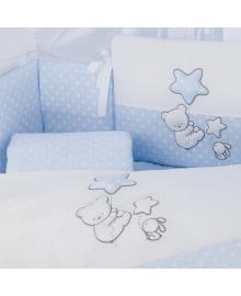 Комплект постельного белья 6 элементов Puer Balloons blue голубой