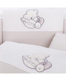Комплект постельного белья 3 элемента Puer Sleeping Bear beige бежевый