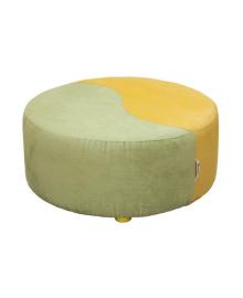 Пуф Indigo Wood зелено-желтый 29699